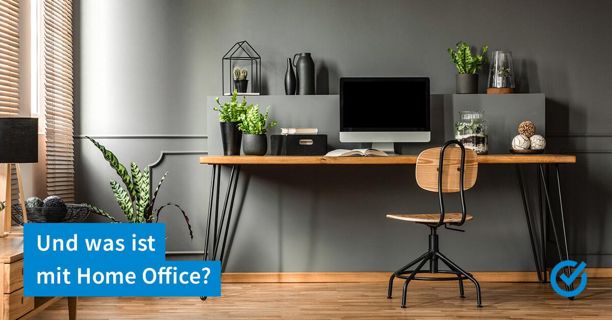 Arbeitszimmer absetzen von der Steuer - geht das?
