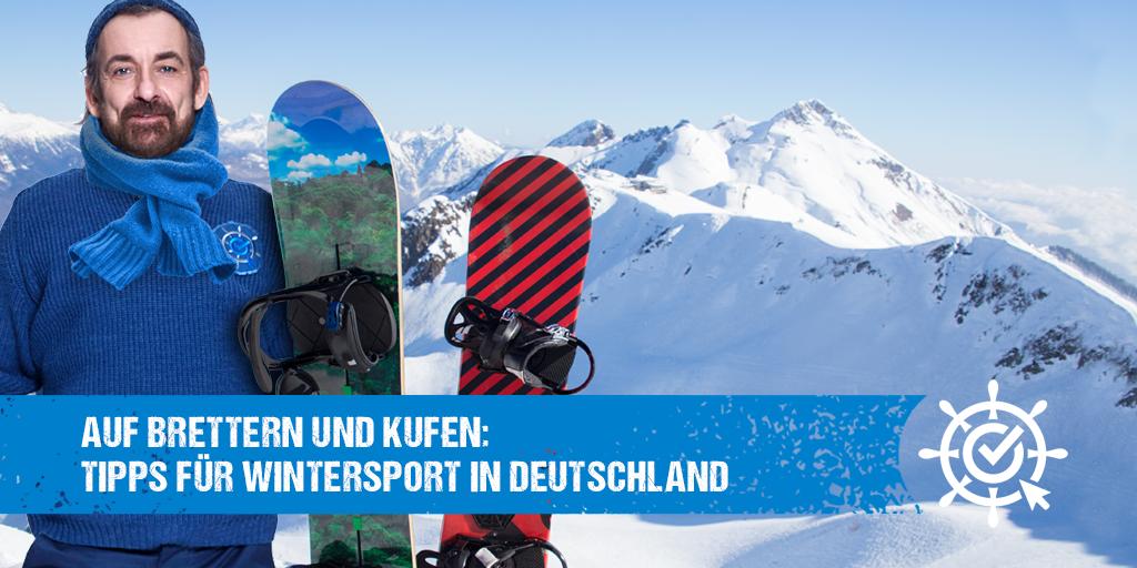Auf Brettern und Kufen: Tipps für Wintersport in Deutschland