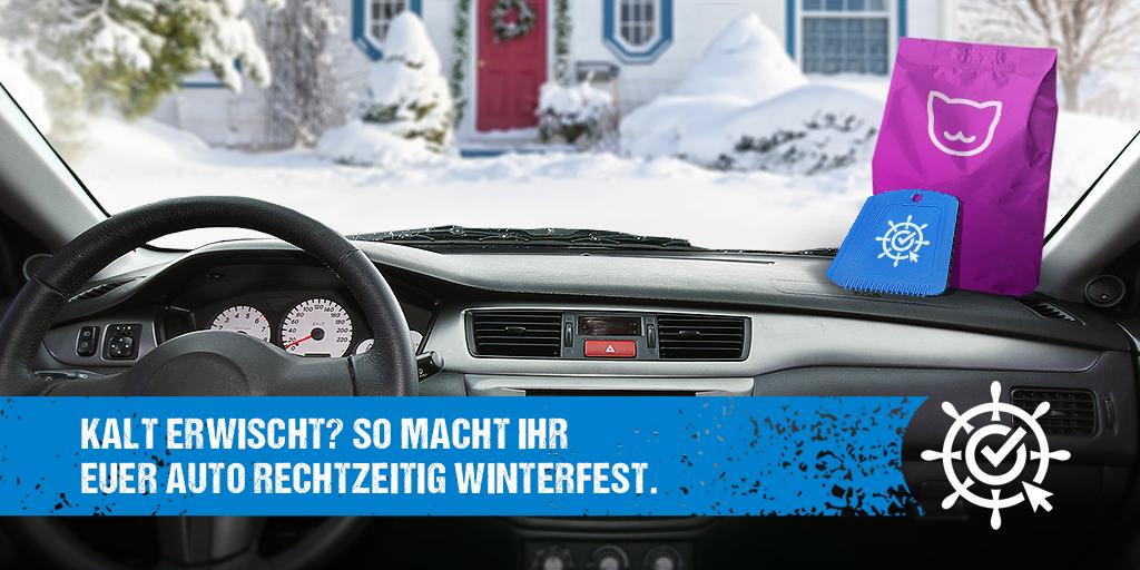 Kalt erwischt? So macht ihr euer Auto rechtzeitig winterfest!