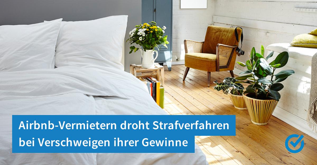 Airbnb Und Die Steuer Jetzt Wird S Ernst Smartsteuer Blog