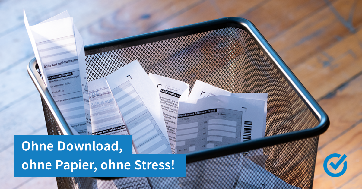 Ohne Download, ohne Papier, ohne Stress!