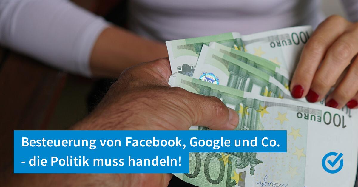 Deutsche Firmen als Steuereintreiber bei Google