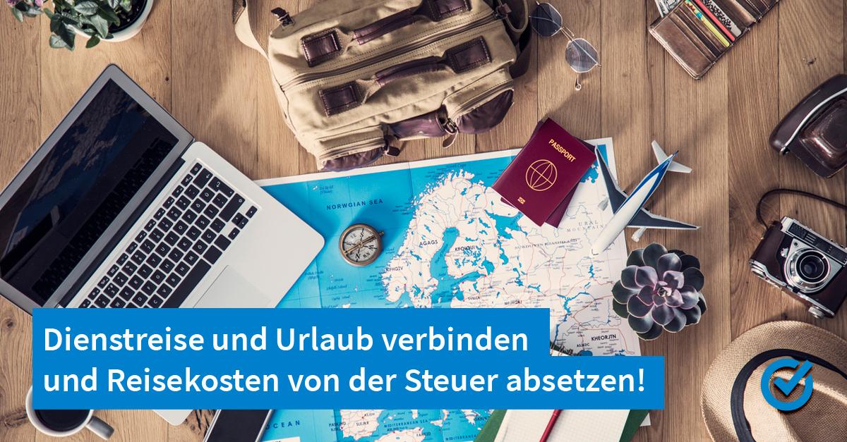Ein Traum: Urlaub machen und Steuern sparen