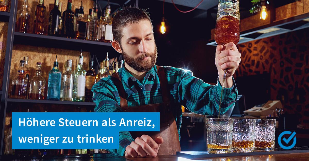Grüne wollen höhere Alkoholsteuer