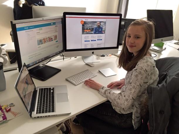 Hannah zu Besuch bei smartsteuer