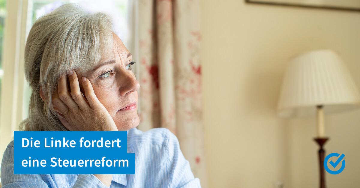 Immer mehr Steuern für Rentner