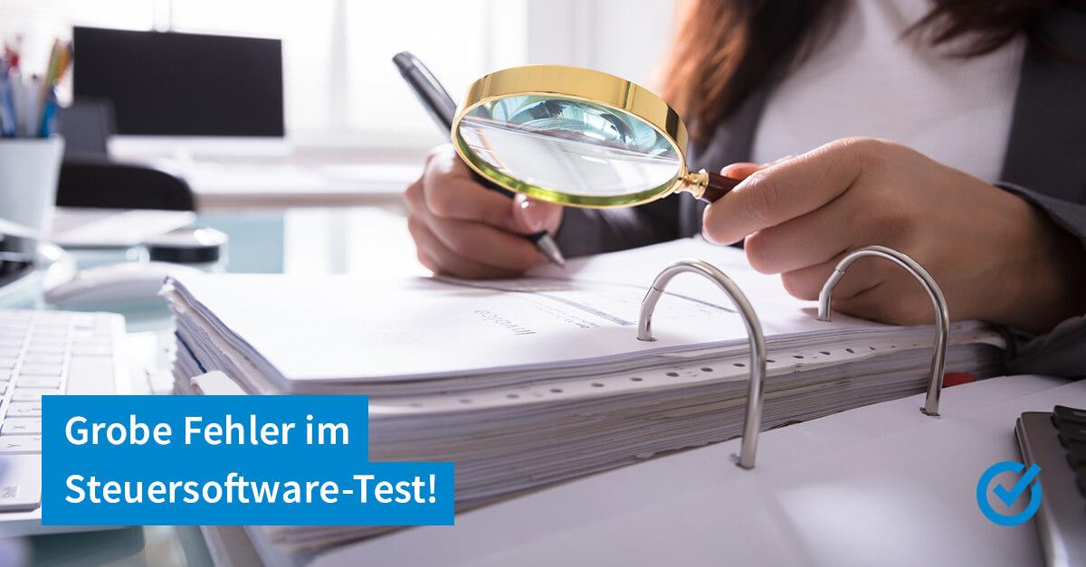 In eigener Sache: Informationen zum Test der Stiftung Warentest