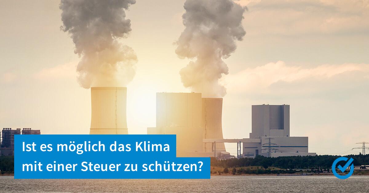 Kommt die CO2-Steuer?