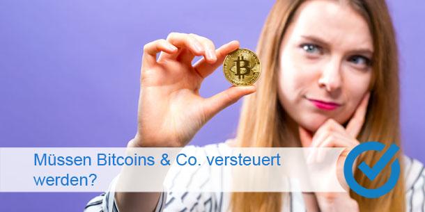 Müssen Bitcoins & Co. versteuert werden?