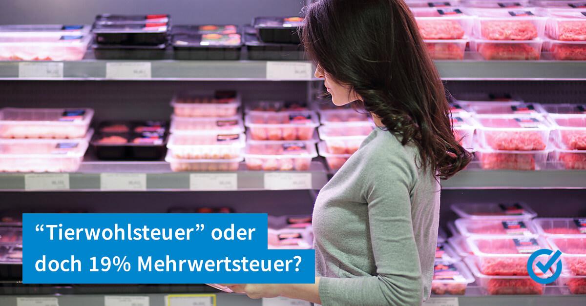 Mehr Steuern auf Fleisch?