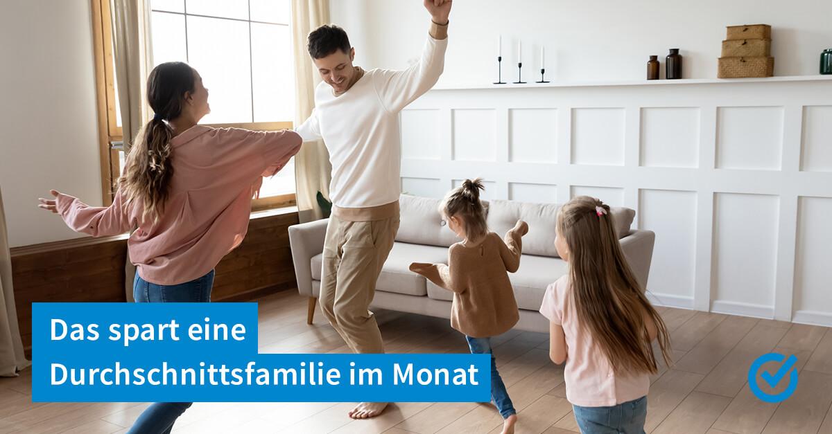 Mehrwertsteuersenkung - so viel spart Familie Mustermann
