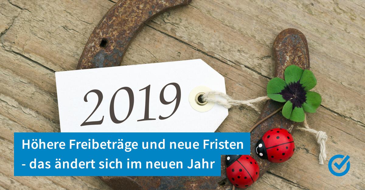 Neues Jahr - neues (Steuer-) Glück
