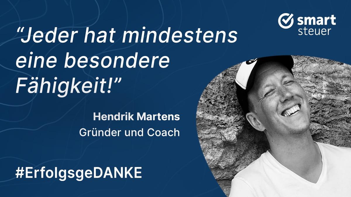 Podcast: ErfolgsgeDANKE mit Hendrik Martens, Coach und Sinnfluencer