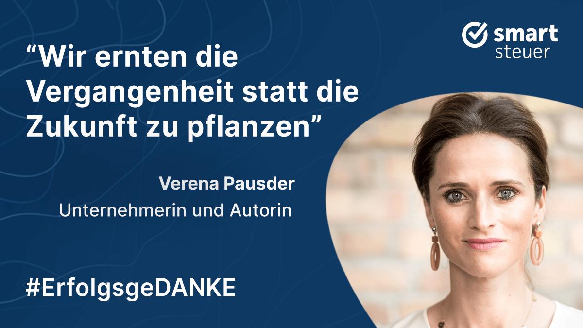 Podcast: ErfolgsgeDANKE mit Verena Pausder, Unternehmerin und Autorin
