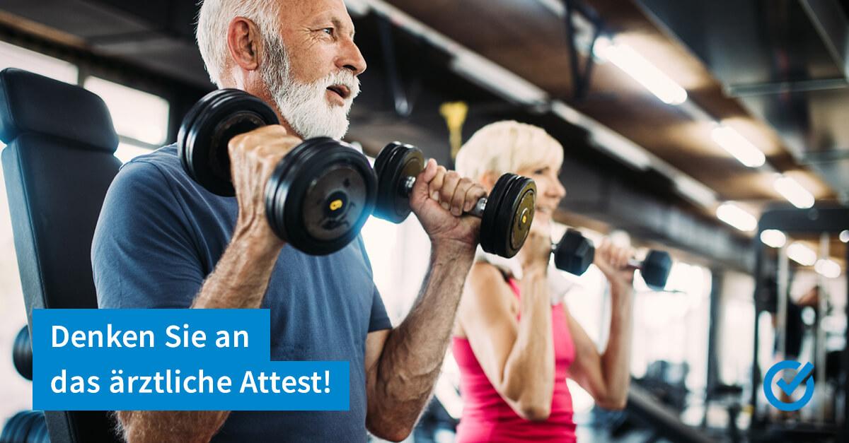 Reha im Fitnessclub - steuerlich absetzbar?