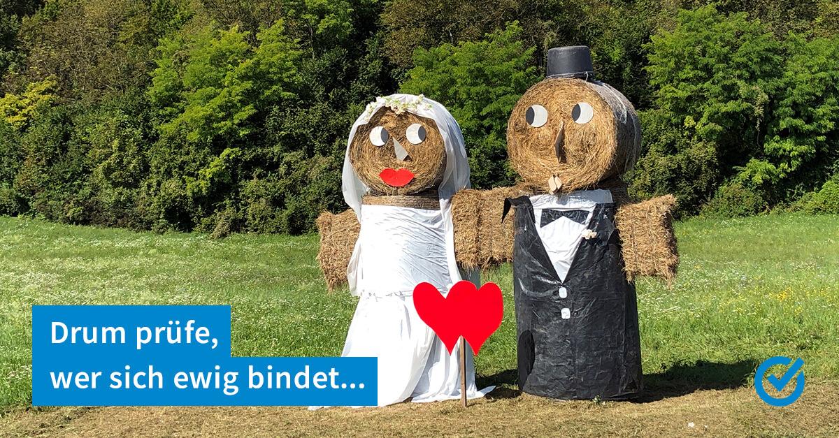 Scheiden tut weh - heiraten manchmal aber auch