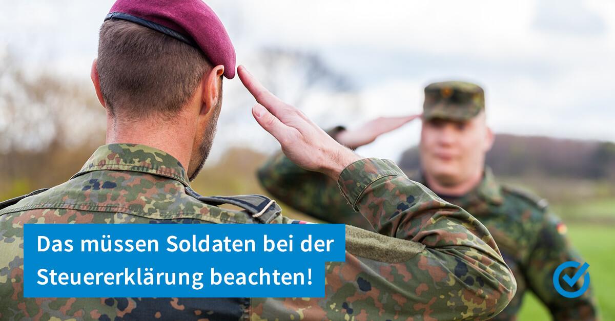 Soldaten, Trennungsgeld und die Steuer