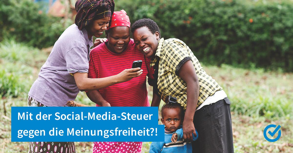 Steuern auf Nutzung von Facebook, WhatsApp & Co.?