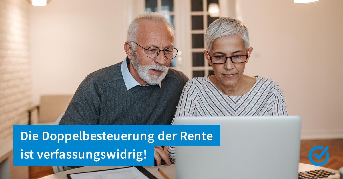 Werden unsere Renten wirklich doppelt besteuert?