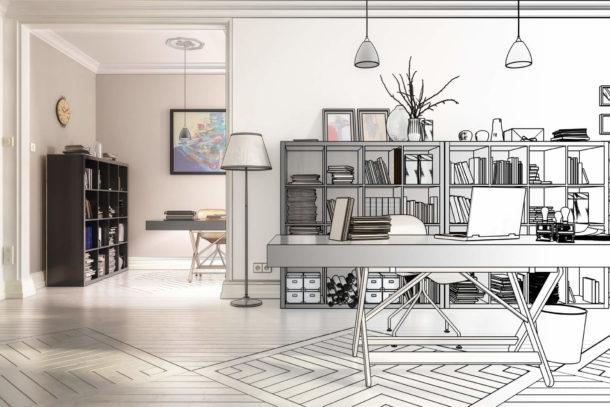 Das können Sie absetzen, wenn Sie ein häusliches Arbeitszimmer haben.