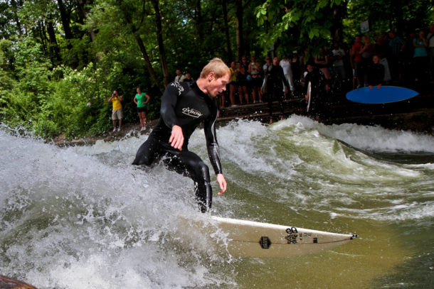 Die Pläne für eine künstliche Welle in Stuttgart sind gescheitert.