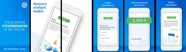 smartsteuer xpress App im Überblick