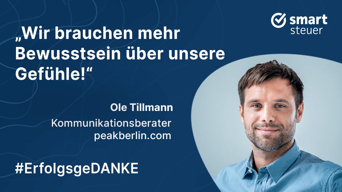 Podcast: ErfolgsgeDANKE mit Ole Tillmann Innovation Consultant, Präsentationscoach und Schauspieler