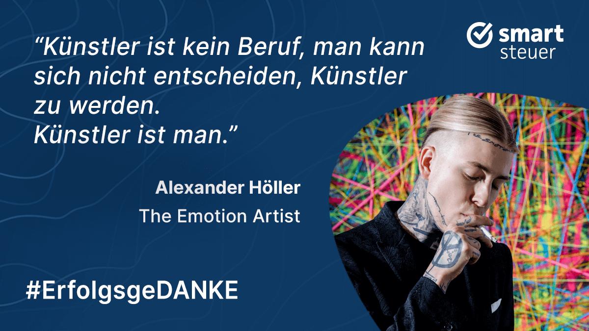 "Podcast: ErfolgsgeDANKE mit Alexander Höller, ""The Emotion Artist"""