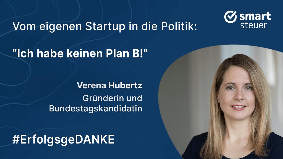 Podcast: ErfolgsgeDANKE mit Verena Hubertz, Gründerin von Kitchen Stories und Bundestagskandidatin