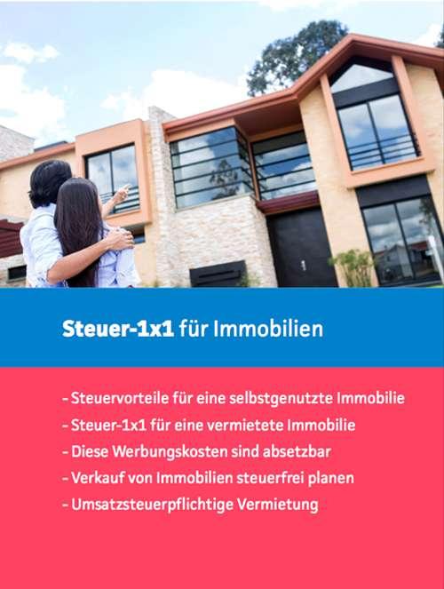 Kostenloses Ebook Immobilien Smartsteuer